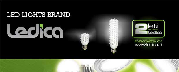 Ledica led bulbs