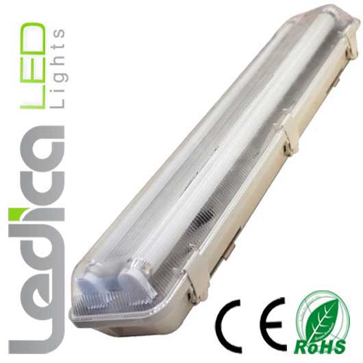 Led two T8 fixture 150cm