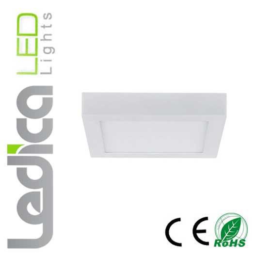 led ceiling light square 12w