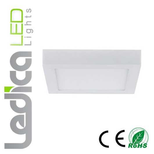 Ceiling led light square 18W