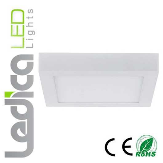 Led-ceiling square light 24W