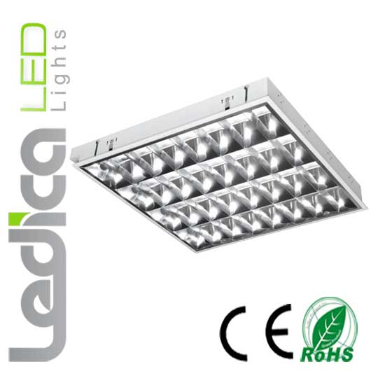 Built-in tube fixture 4x T8 60cm