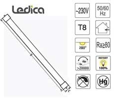 Led 18W T8 tube specification