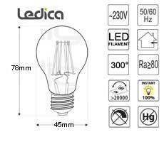Led Specifications bulbs