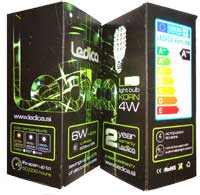 LED light corn box