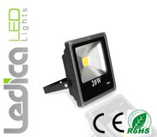 Led floodlight 20W IP66