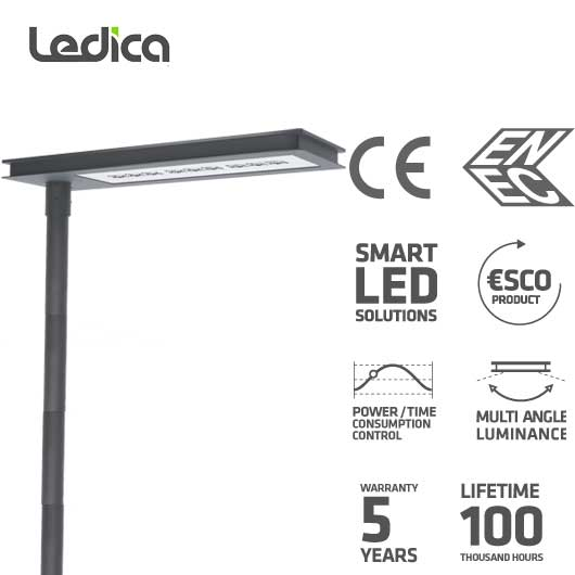 Strassenbeleuchtung LED Spezifikationenn